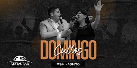 Culto Domingo às 18h30 | 20/09/2020 ingressos