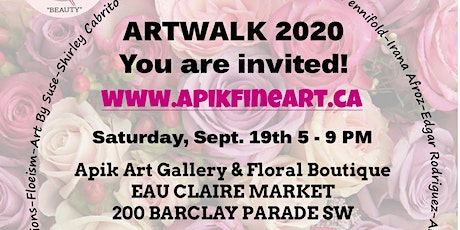 Apik Art Gallery - You are invited to our Artwalk 2020 Exhibition. tickets