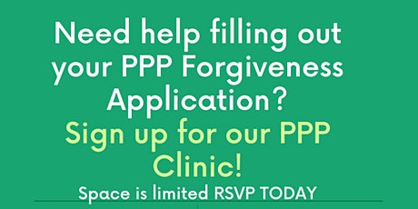 PPP Forgiveness Clinic tickets