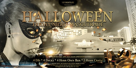 Miami Halloween Friday Night Party Cruise - Masquerade Costume Party tickets