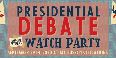 2020 U.S. Presidential Debate Watch Party @ Busboys and Poets 14th & V tickets