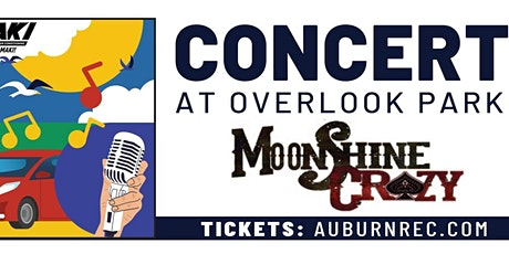 Drive In MoonShine Crazy Concert tickets