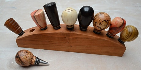Wood Turned Bottle Stoppers with Linda Van Gehuchten tickets