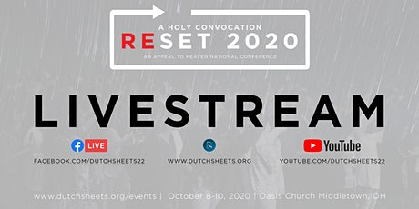 Reset 2020 tickets