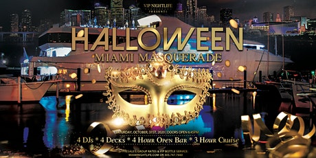 Miami Halloween Saturday Night Party Cruise -  Masquerade Costume Party tickets