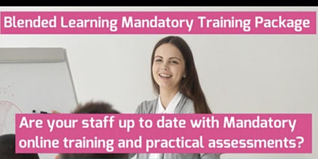 Mandatory Training Day(Moving People Safely & BLS) & 6 Online Courses BLE tickets