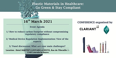 Plastic Materials in Healthcare: Go Green & Stay Compliant tickets