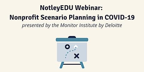 Nonprofit Scenario Planning in COVID-19 tickets