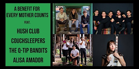 Hush Club, Alisa Amador, Couchsleepers, The Q-Tip Bandits - FB and IG LIVE tickets