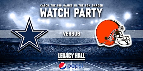 Cowboys vs. Browns Watch Party tickets