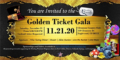 Golden Ticket Gala Denver 2020 tickets
