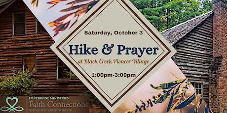 Hike & Prayer at Black Creek Pioneer Village tickets
