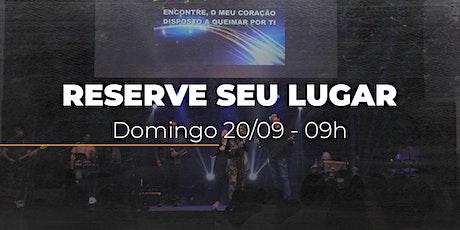 Culto Domingo MANHÃ | 20/09 - 09h ingressos