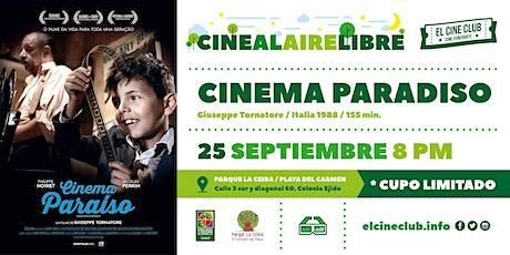 Cinema Paradiso / Cine al Aire Libre entradas