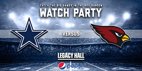 Cowboys vs. Cardinals Watch Party tickets