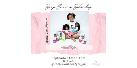 Shop Brown Saturday: Young Entrepreneur Takeover tickets