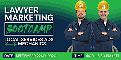 Lawyer Marketing Bootcamp (Rd. 27): Local Services Ads Mechanics tickets