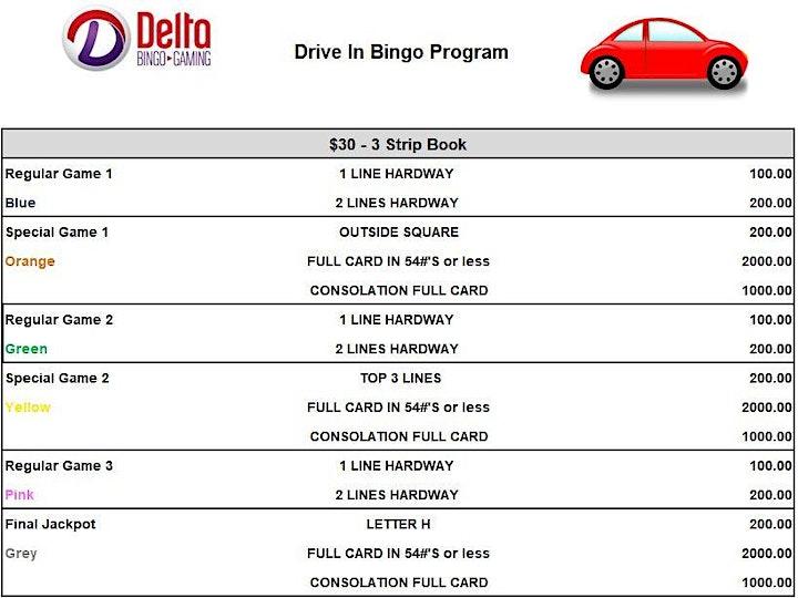 CANCELLED: Delta's Drive In Bingo: Delta Downsview image