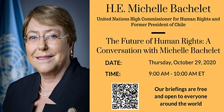 The Future of Human Rights: A Conversation with Michelle Bachelet tickets