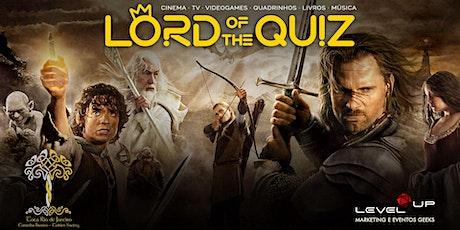 Lord of the Quiz Premium - ESPECIAL FESTA HOBBIT ingressos