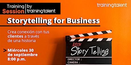 Storytelling: Crea conexión con tus clientes a través de una historia entradas