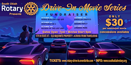 Drive-In Movie Series tickets