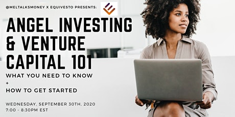 Angel Investing & Venture Capital 101 tickets