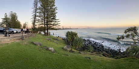 BURLEIGH POINT -30 min walk/run then coffee at Social Brew tickets