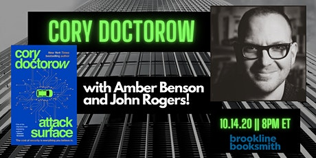 Cory Doctorow with Amber Benson and John Rogers: ATTACK SURFACE tickets