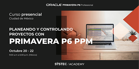 Curso Básico de Primavera P6 Professional Project Management (PPM) boletos