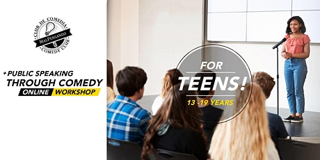 Online Workshop | Public Speaking through Comedy (for Teens) tickets