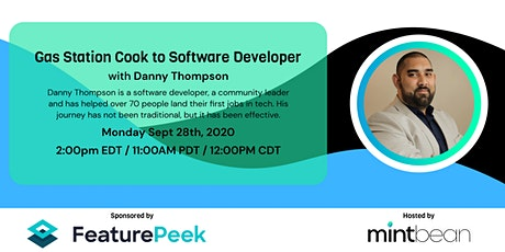 A Conversation with Danny Thompson: Gas Station Cook to Software Developer tickets
