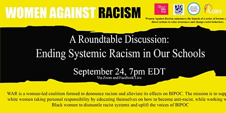 Ending Systemic Racism in Our Schools tickets