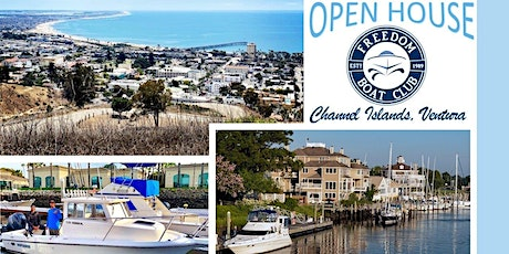 Freedom Boat Club Ventura | Open House! tickets