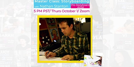 Master Class: Storyboard Artist Nathan Stanton 2020 tickets