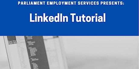 LinkedIn Tutorial tickets