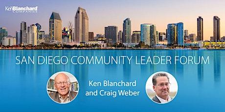 San Diego Community Forum tickets