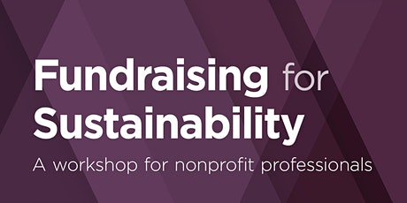Fundraising for Sustainability tickets