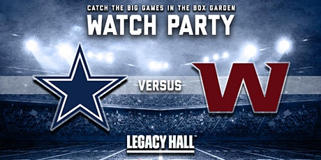 Cowboys vs. Washington Watch Party tickets