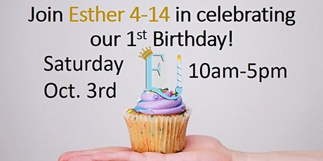 Esther 4-14 Antiques & Treasures Birthday Bash tickets