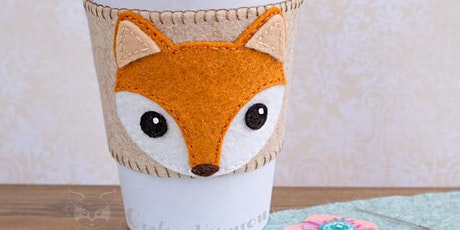 Fox Coffee Cozy Virtual Workshop with Art Kit tickets