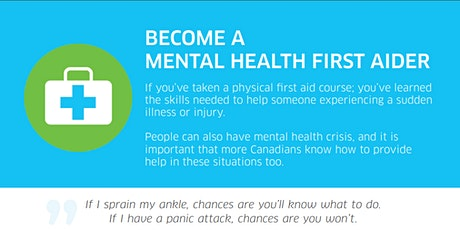 Mental Health First Aid Basic tickets
