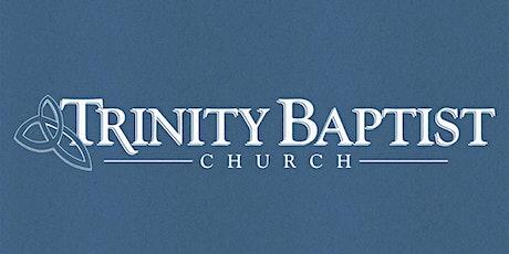 10/25/20 8:30 AM - TBC Worship Service tickets