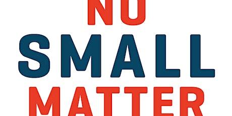 "Virtual Screening of ""No Small Matter"" tickets"