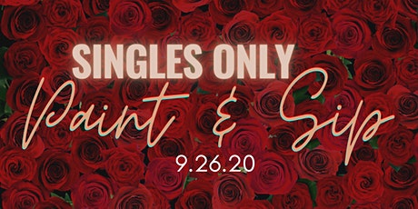 Singles Paint and Sip tickets