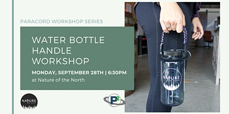 Paracord Workshop Series - Make Your Own Water Bottle Holder tickets