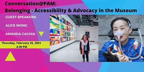 Conversation@PAM: Belonging - Accessibility & Advocacy in the Museum tickets