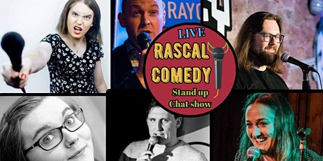 Rascal Comedy LIVE Stand Up Chat Show tickets
