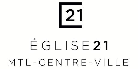 Église 21 Service du 27 septembre tickets