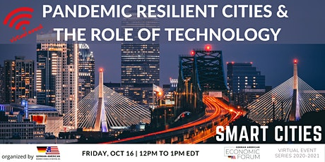 Pandemic Resilient Cities  & the Role of Technology tickets